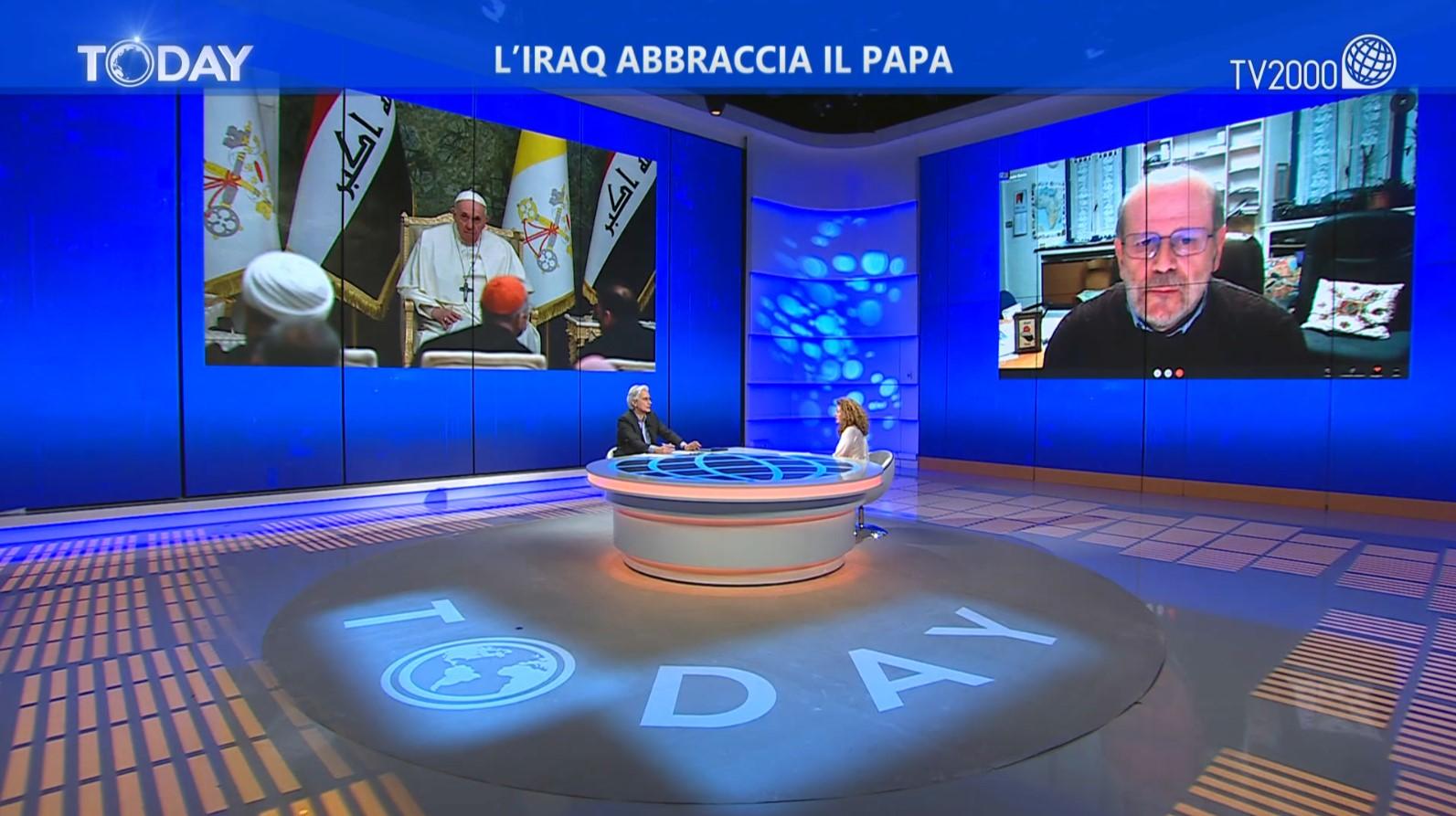 """""""L'Iraq abbraccia il Papa"""", puntata del 6 marzo 2021"""