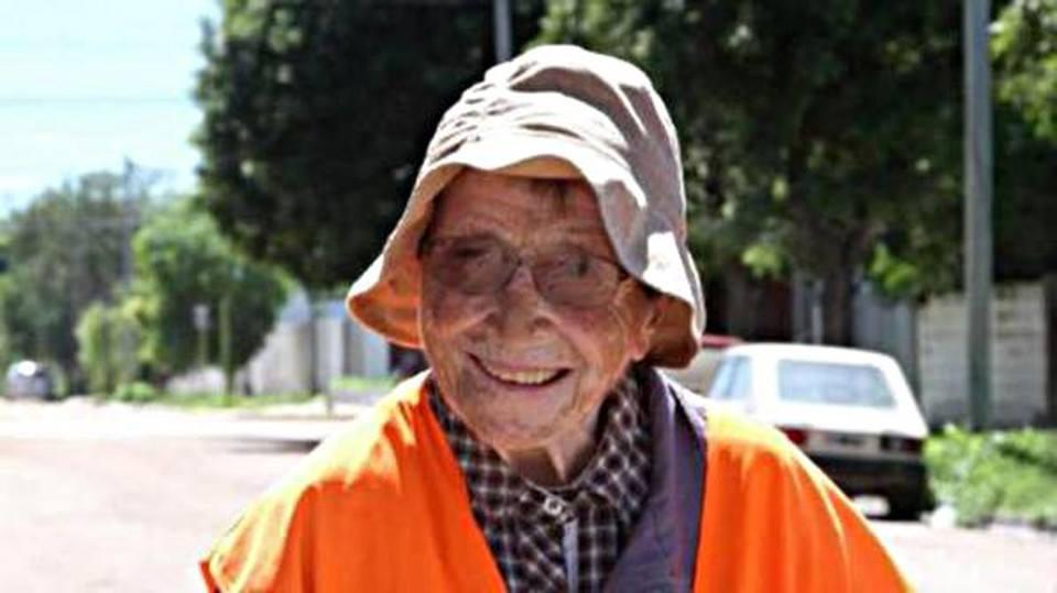 Emma Morosini, 91 anni, 1300 km a piedi