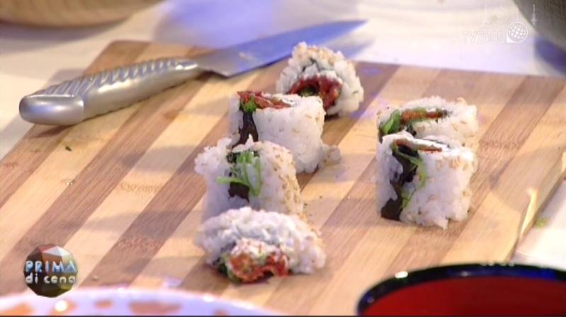 Sushi vegetariano del Giappone