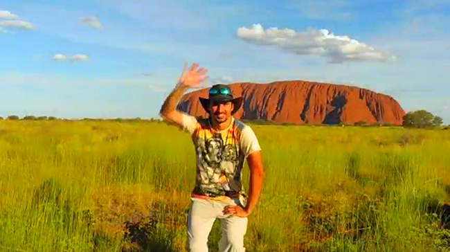Stefano Ghilardi - Avventura in Australia