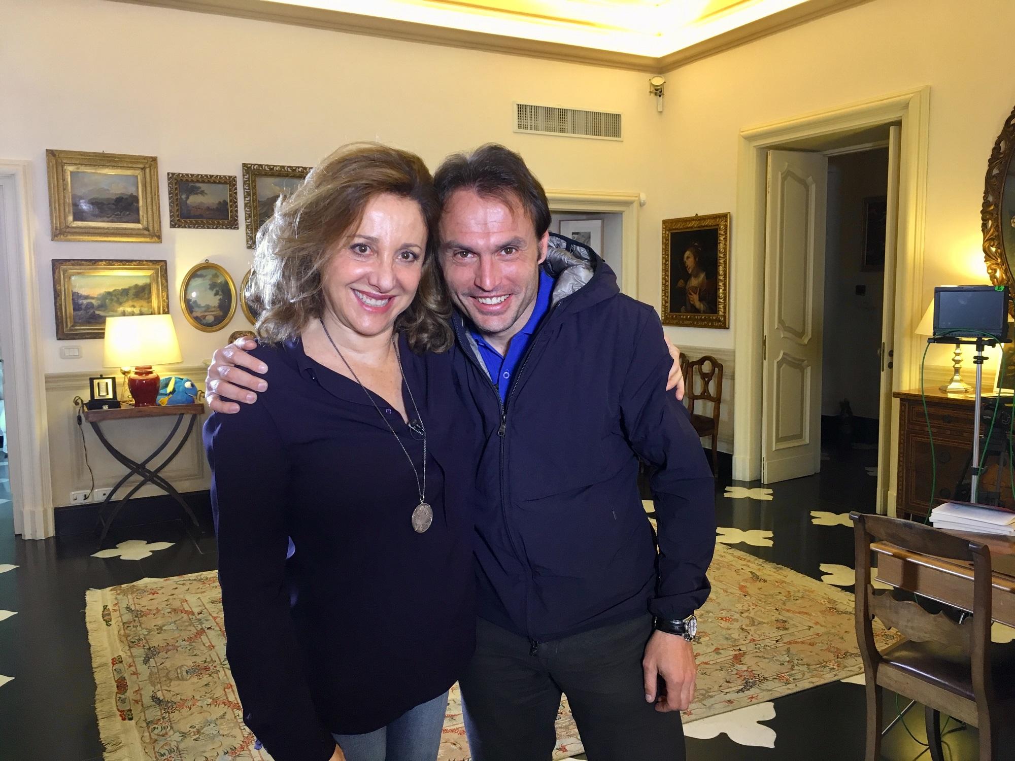 """Carla Signoris ospite di 'Ave Maria': """"Crozza ? A casa è un vulcano meraviglioso"""""""