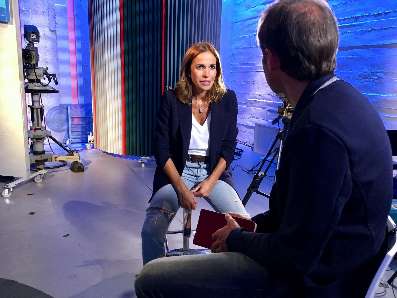 """Cristina Parodi a Tv2000: """"Miei figli sono la priorità. Mai subìto molestie, ero una super timidona"""""""