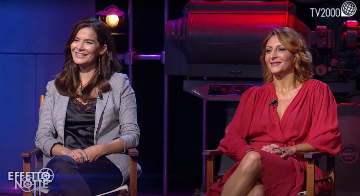 Effetto notte:<br>Enrico Brignano,<br>Paola Minaccioni<br>e Ilaria Spada