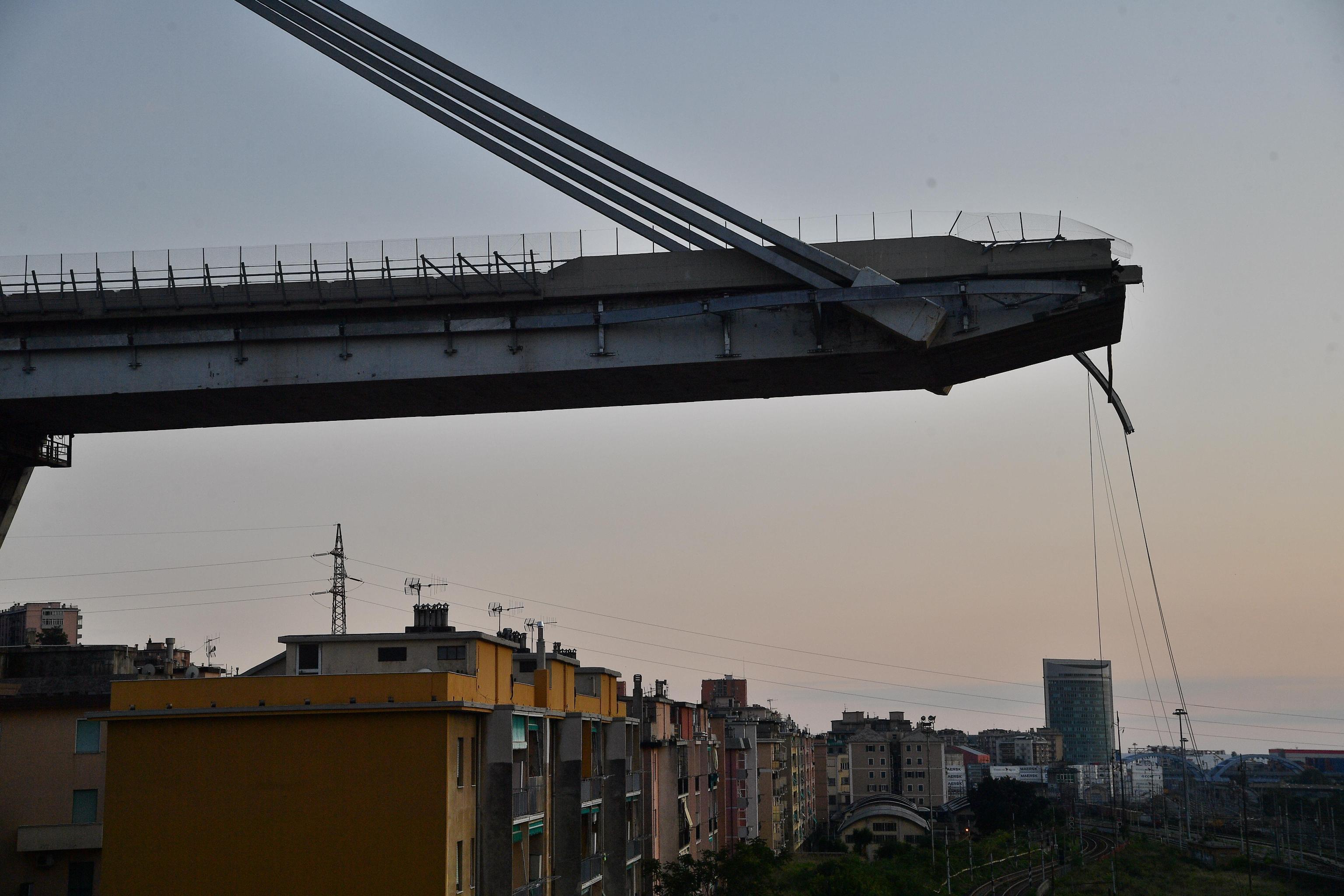 """Ponte Morandi, report del 2014 diceva: """"È a rischio crollo"""""""
