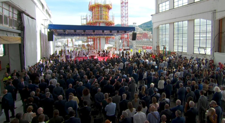 Primo anniversario della tragedia del Ponte Morandi, Genova ricorda le 43 vittime del crollo