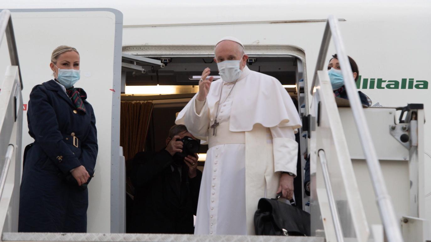 Chiesa e Comunità <br> Papa in Iraq: Pellegrino di speranza