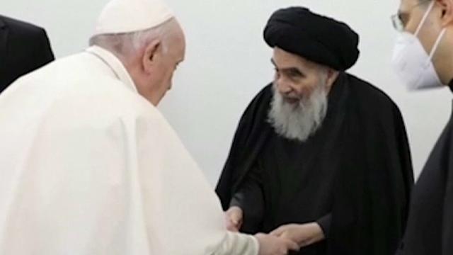 """Chiesa e comunità<br>Papa in Iraq, padre Samir Yousif: """"Ha sollevato il nostro spirito"""""""