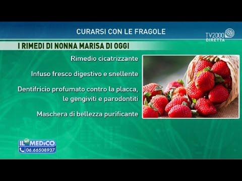 Curarsi con le fragole