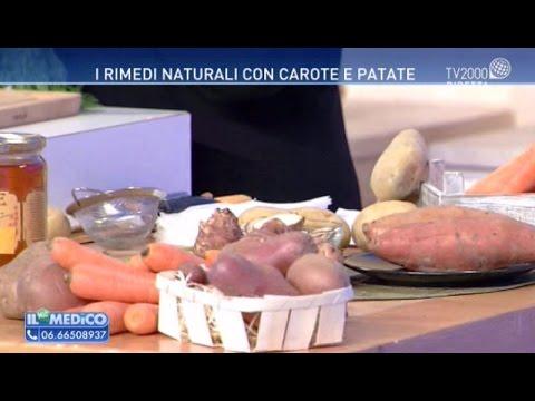 I rimedi naturali con carote e patate
