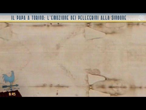 Il Papa a Torino: l'emozione dei pellegrini alla Sindone
