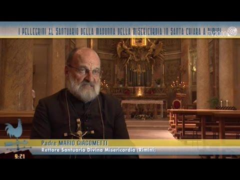 I pellegrini al Santuario della Madonna della Misericordia in Santa Chiara a Rimini