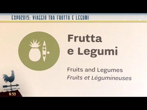 Expo 2015: viaggio tra frutta e legumi