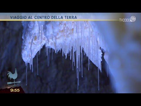 Viaggio al centro della terra - le grotte di Frasassi