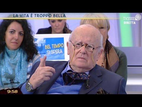 Roberto Gervaso a Bel tempo si spera