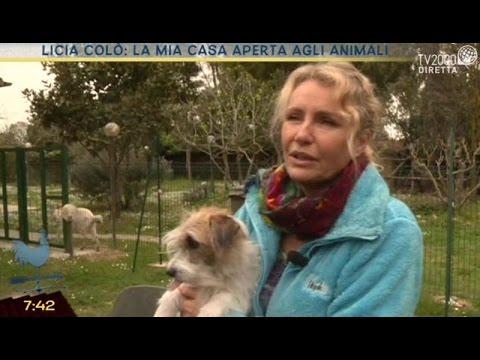 Licia Colò: la mia casa aperta agli animali