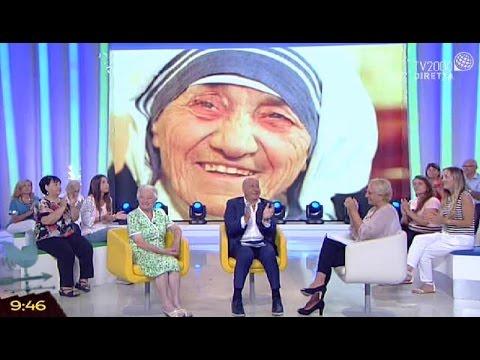 Bel tempo si spera - Speciale canonizzazione Madre Teresa di Calcutta - 5 settembre 2016