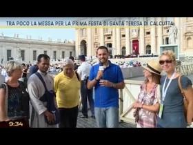 I missionari laici della carità alla Messa di ringraziamento per Canonizzazione di Madre Teresa