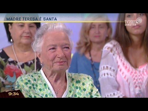 Pino Noia e Marta Ferrari ricordano Madre Teresa a Bel tempo si spera