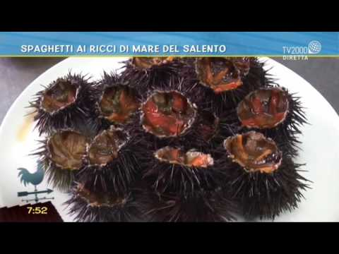 Spaghetti ai ricci di mare del Salento