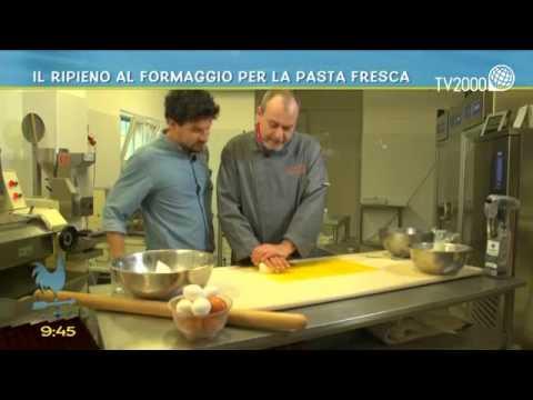 Il ripieno al formaggio per la pasta fresca