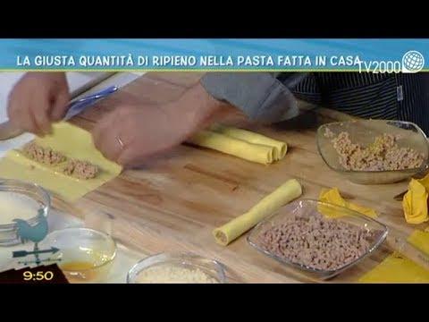 La giusta quantità di ripieno nella pasta fatta in casa
