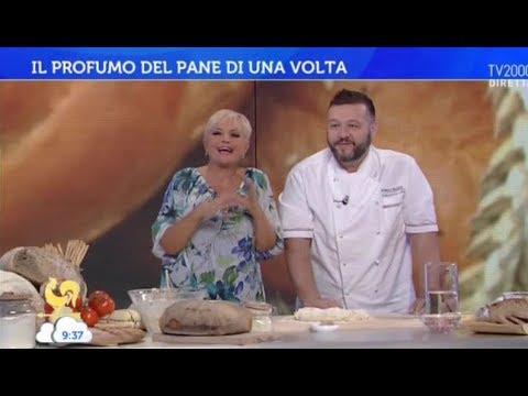 Marco Rufini prepara il pane a Bel tempo si spera