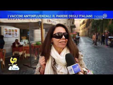 I vaccini antinfluenzali: il parere degli italiani