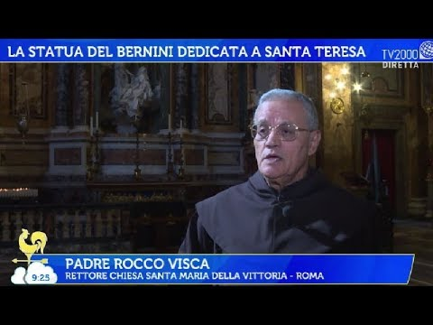 La statua del Bernini dedicata a Santa Teresa D'Avila
