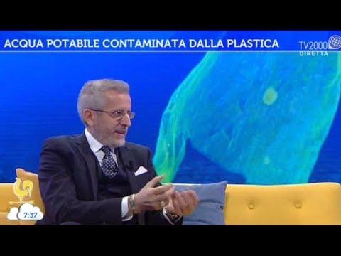 Acqua potabile contaminata dalla plastica