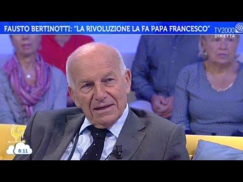 Fausto Bertinotti si racconta a Bel tempo si spera