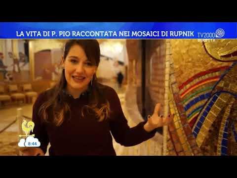 La vita di Padre Pio raccontata nei mosaici di Rupnik