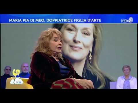 Maria Pia Di Meo, la più grande doppiatrice italiana