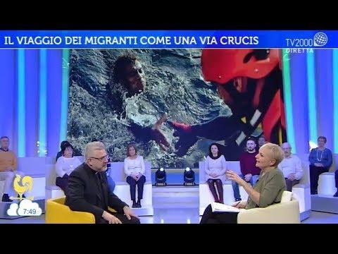 Il viaggio dei migranti come una Via Crucis