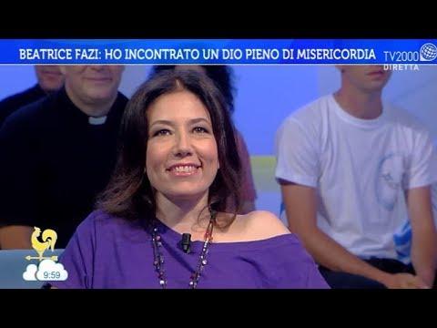 """Beatrice Fazi: """"ho incontrato un Dio pieno di misericordia"""""""
