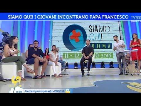 Siamo qui! I giovani incontrano Papa Francesco