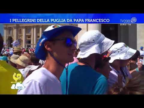I pellegrini della Puglia da Papa Francesco