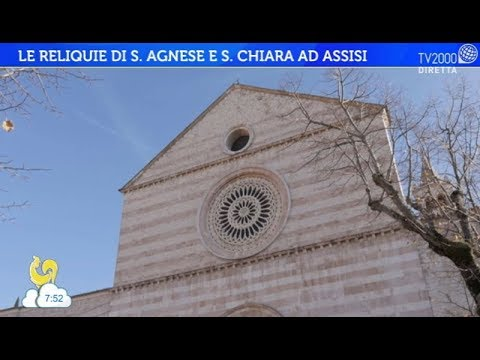 Le reliquie di Sant'Agnese e Santa Chiara ad Assisi