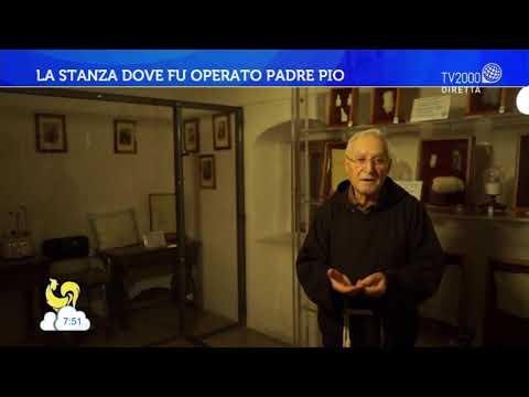 La stanza dove fu operato Padre Pio