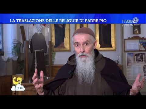 La traslazione delle reliquie di Padre Pio
