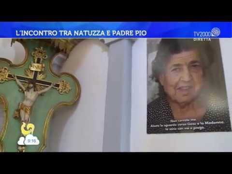 L'incontro tra Natuzza e Padre Pio