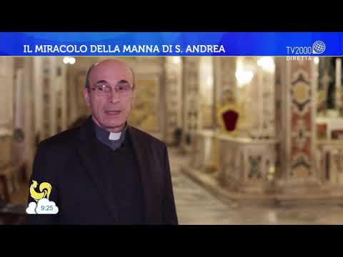Il miracolo della Manna di S. Andrea