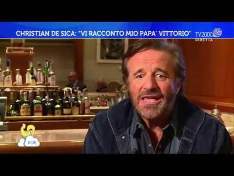 """Christian De Sica: """"vi racconto mio papà Vittorio"""""""