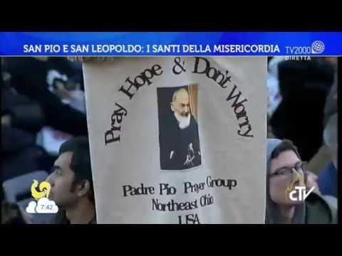 San Pio e San Leopoldo: i Santi della misericordia