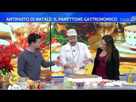Il panettone gastronomico dello chef Gandino