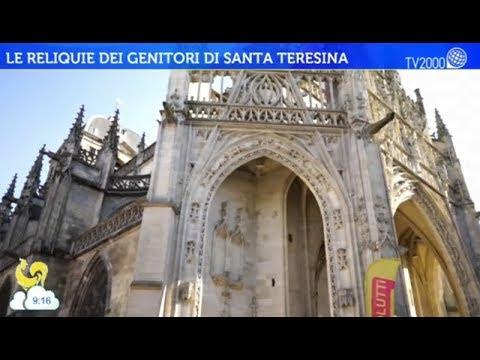 Le reliquie dei genitori di Santa Teresina