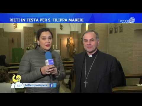 Rieti in festa per S. Filippa Mareri
