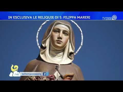In esclusiva le reliquie di S. Filippa Mareri