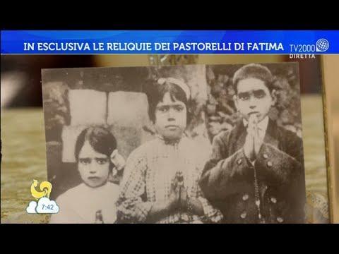 In esclusiva le reliquie dei pastorelli di Fatima