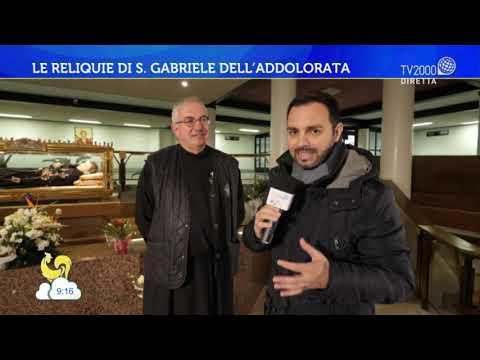 Le reliquie di S. Gabriele dell'Addolorata