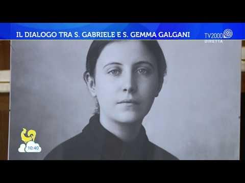 Il dialogo tra S. Gabriele e S. Gemma Galgani